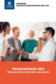 Bild på broschyren Personcentrerad vård